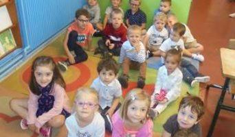 Les élèves de la classe de Yaëlle, septembre 2019