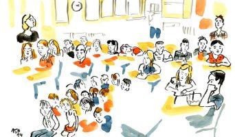 Les élèves de la classe d'Hélène, septembre 2019